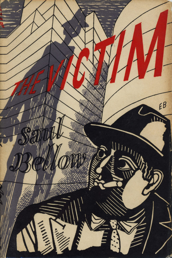 Edward Bawden, dust jacket for Saul Bellow's The Victim, 1948
