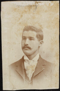 Mounted albumen print of Alexander Manly, in the John Henry William Bonitz Papers #3865, Southern Historical Collection, The Wilson Library, University of North Carolina at Chapel Hill.